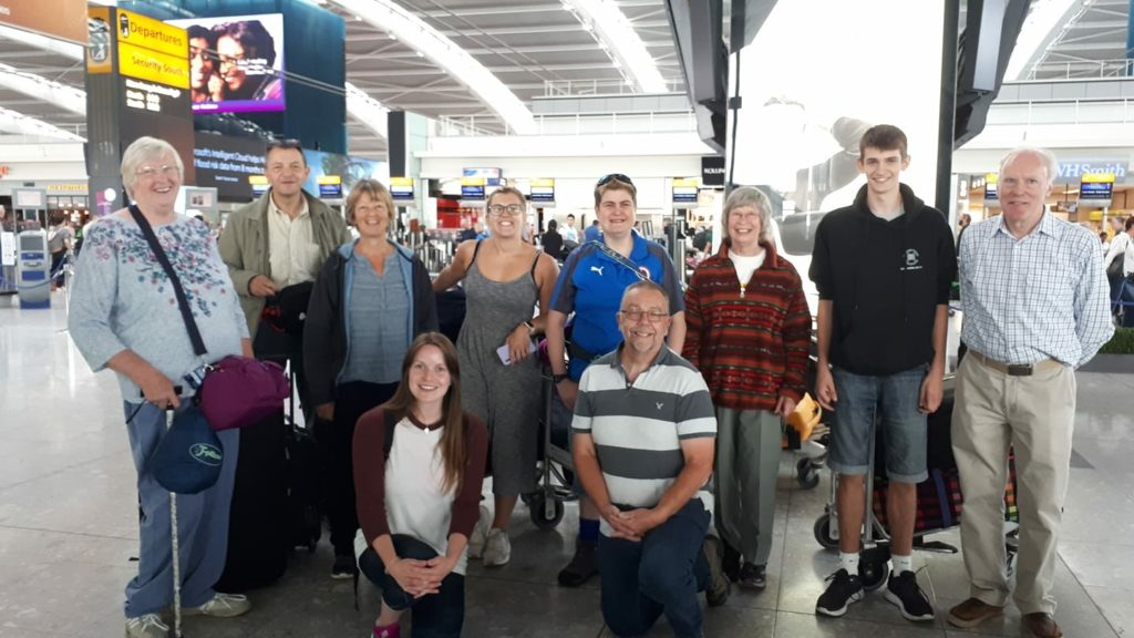 Swaziland Mission Team including Vicci Elliot from