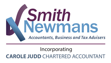 Smith Newmans logo incorporating Carole Judd